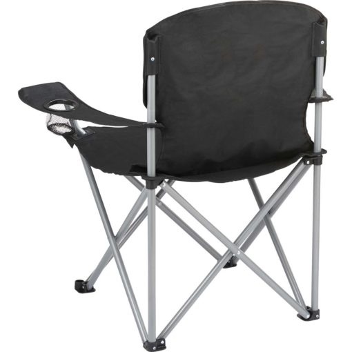 TK1028BK Trekk Oversized Folding Chair Back Angle