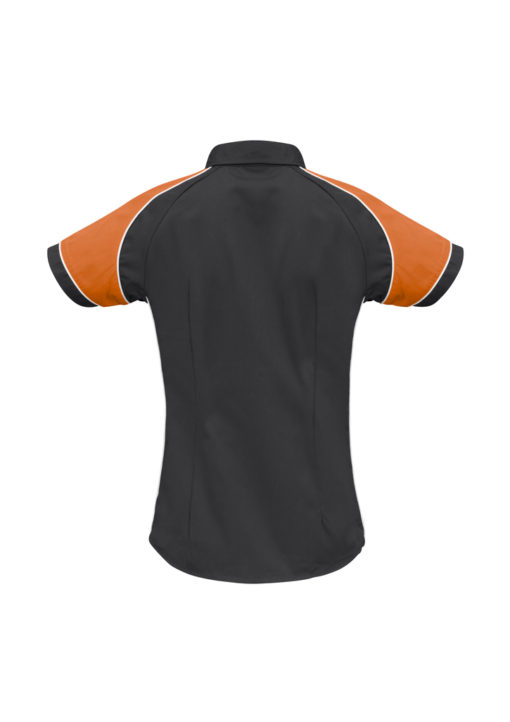 S10122 Black Orange White Back